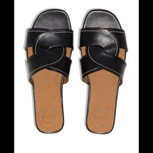 Chloe Candice Black Sandals in Size 40 (10)